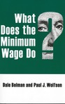 What Does the Minimum Wage Do? by Dale Belman and Paul J. Wolfson